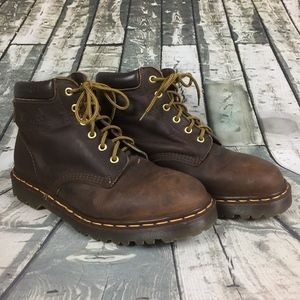 Dr Martens Vintage Leather Boots Men Size 10